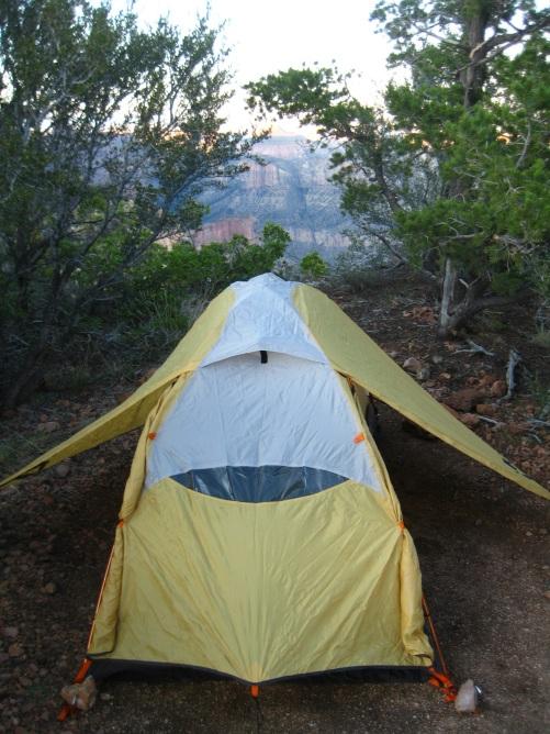 Quite the campsite.